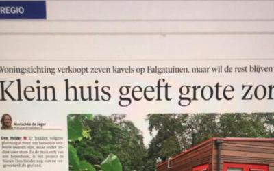 Noord Hollands Dagblad volgt de Falgatuinen