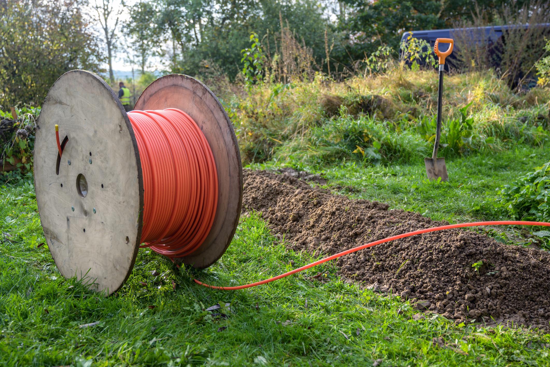 falgatuinen kabel KPN aanleggen