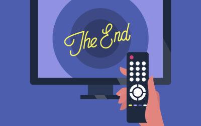 Bye bye televisie